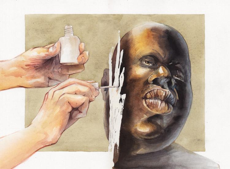 Негр он и в Афроамерике негр.