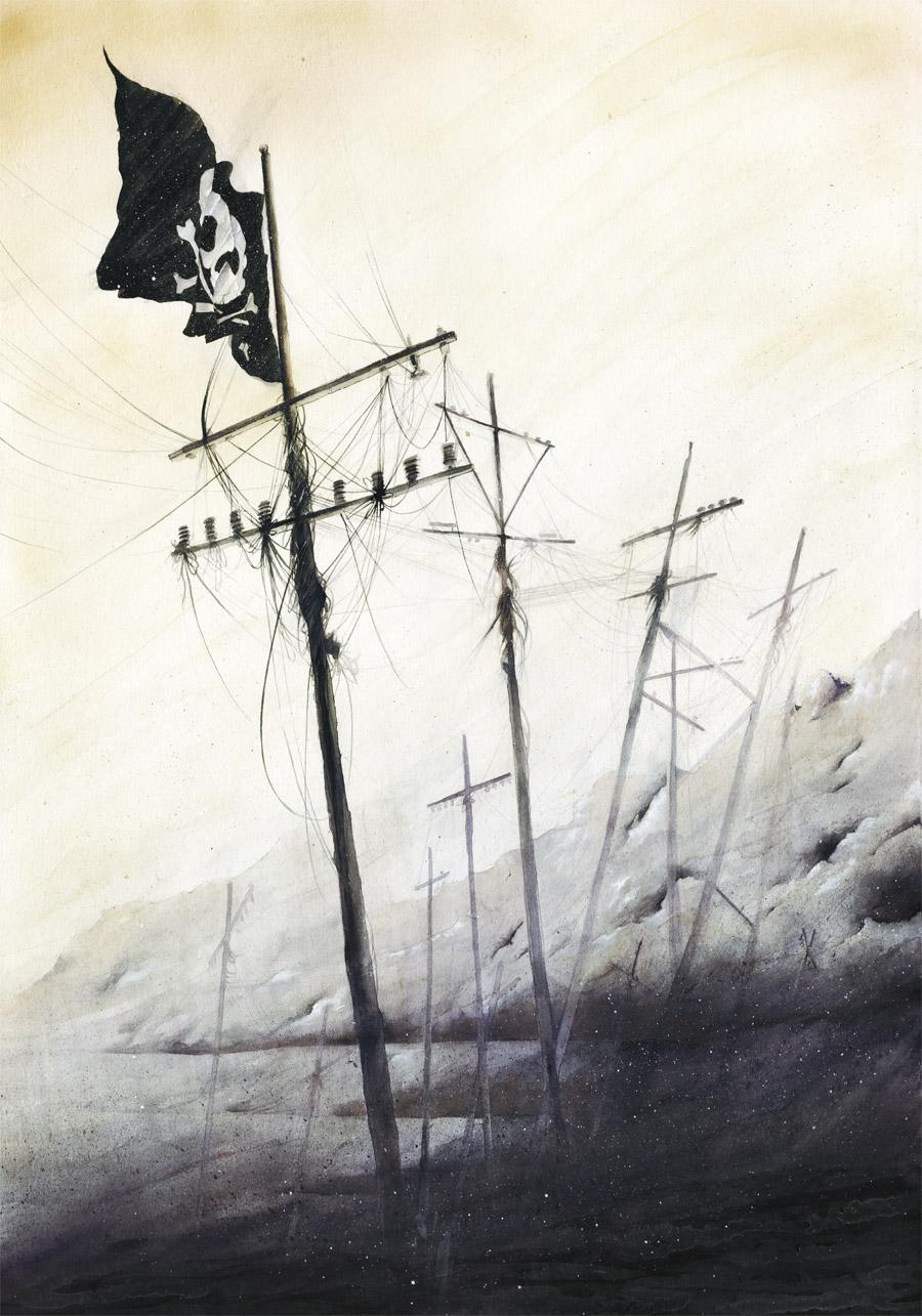 Крысы бегут на корабль